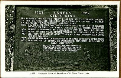 Cuba-Lake-Seneca-Oil-Plaque