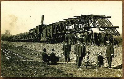 Cuba-Erie-Laying-Track